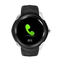 C1 Plus 3g Telefone Do Relógio Inteligente  8 gb + RAM 512 mb ROM Tela IPS HD de 1.3 polegada  MTK6580 Quad Core 1.3 ghz & Camera/G-sensor & Bluetooth
