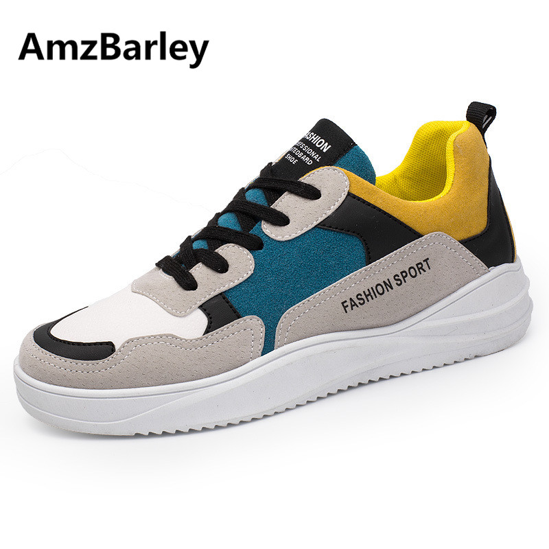 AmzBarley Men Shoes Flats Patchwork Footwear Shoe Suede Casual Low Top Man's Walking Hiking Hip Hop Zapatillas Hombre Fashion hot sale 2016 top quality brand shoes for men fashion casual shoes teenagers flat walking shoes high top canvas shoes zatapos