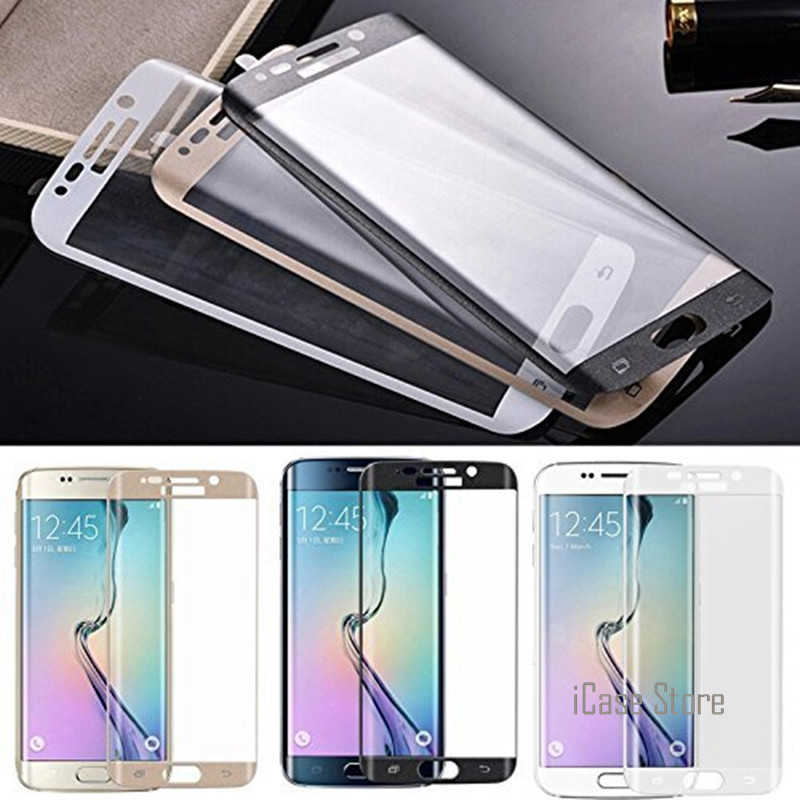 3D Curved Full Screen Cover Tempered Glass For Samsung Galaxy A3 A5 A7 2017 S7 Edge S6 Plus Screen Protector Full Coverage Glass