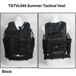 Mesh Tactical Vest Airsoft CQB vest with accessories Summer mesh tactical vest with
