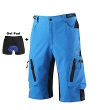 Men Cycling Shorts Underwear Downhill MTB Shorts Mountain Road Bike Shorts Cycle Short For Outdoor Sports