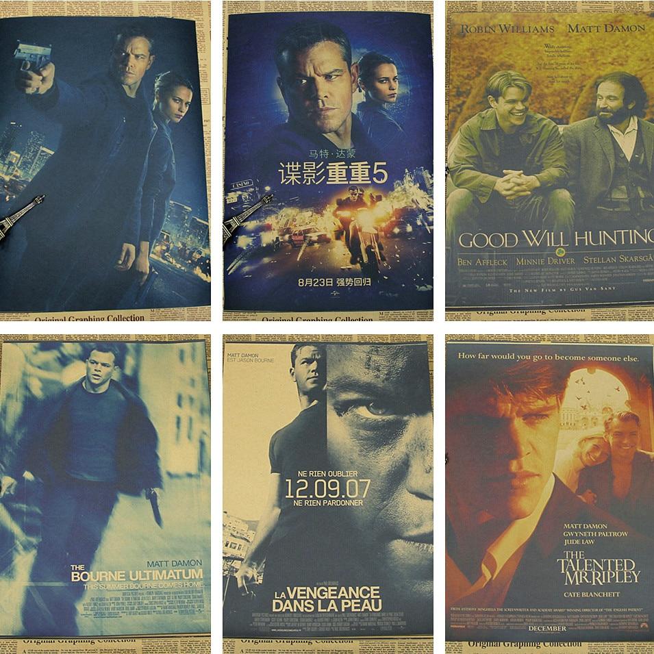 The Bourne Identity Good Will Hunting Matt Damon Home