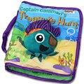 Livro de Pano do bebê Em Inglês Brinquedos Educativos 15*15 CM Quatro Páginas Dos Desenhos Animados de Pelúcia Brinquedo Para Bebe Juguetes Bebe Oyuncak