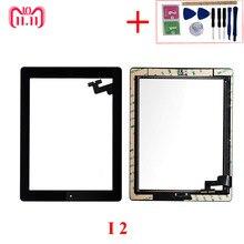 9,7 «Высокая сенсорный Панель Экран для iPad 2 2nd Gen A1395 A1396 A1397 ЖК-дисплей внешний сенсорный экран планшета спереди Стекло Панель Замена
