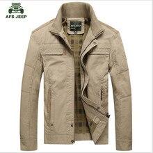 Männer Jacke khaki und armee-grün farben Männlichen Mantel Lässig Feste Jacke der NEUEN männer Jacke Baumwolle Plus Größe männer Mantel
