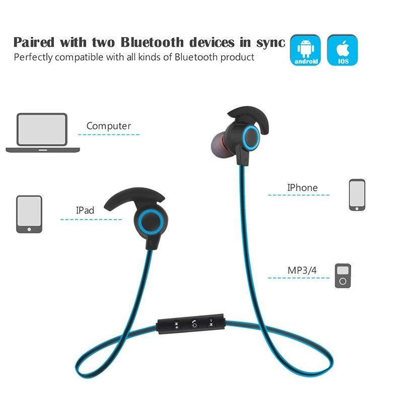 Bluetooth Earphone For Samsung Galaxy S9 S9+ S8 Plus S8+ S7 Edge S6 S5 Note 9 8 5 Earphones Wireless Running Sport Earpiece (6)