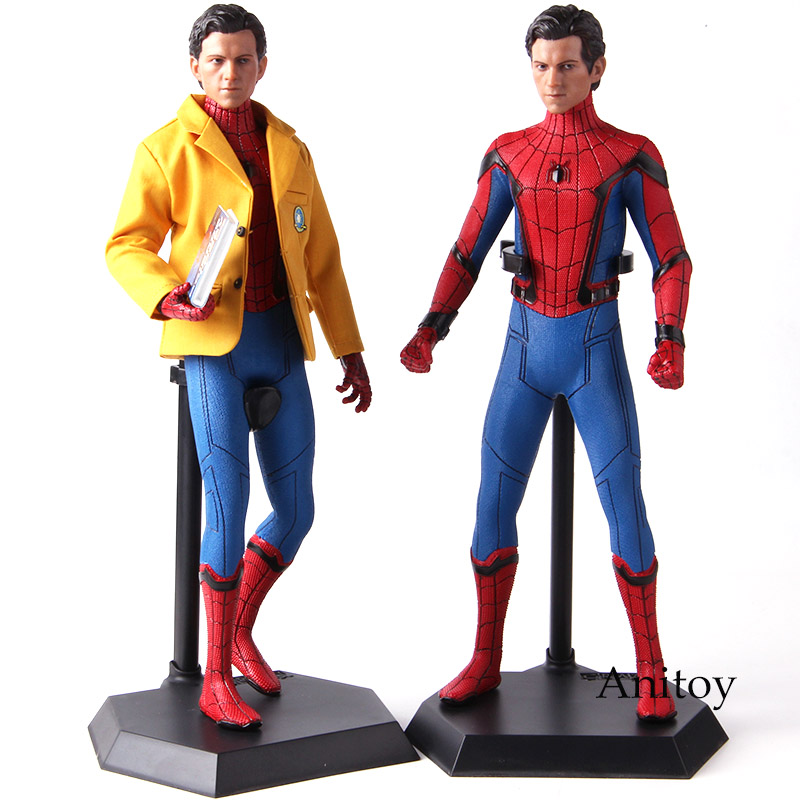 Marvel Spider Man Homecoming Spiderman Crazy Toys 1 6 Action Figures Collectible Figure Model Toy