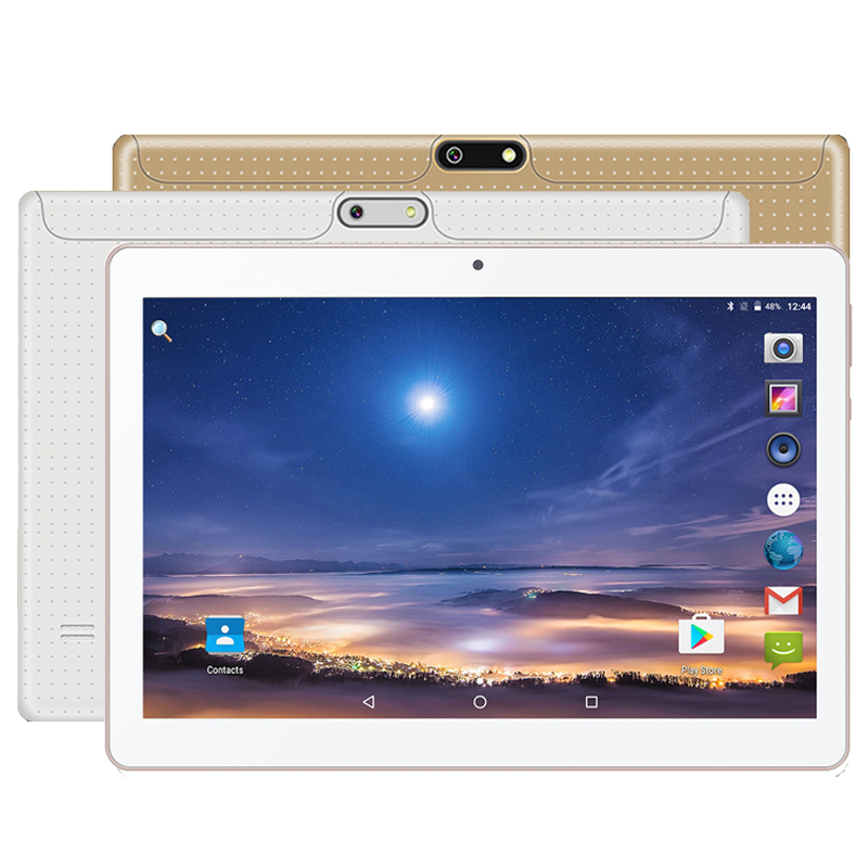 Newest Dhl Free 10 Inch Tablet Mtk8752 Octa Core 4gb Ram 64gb Rom Dual Sim 5.0mp Gps Android 7.0 1280*800 Ips Tablet Pc