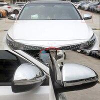 Car Reaview Mirror Cover Rear view Mirror Trim Frame 2PCS For Kia K5 Optima 2016 2017