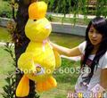 100 cm / 39 inches Plush Stuffed Duck Stuffed Duck Pillow Stuffed Duck Bolster Free Shipping Accept Drop Shipping FT30061