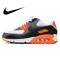 Original authentic NIKE AIR MAX 90 men's running shoes classic outdoor sports shoes comfortable mesh breathable 537384 128