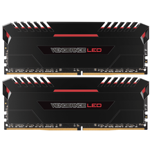 CMU32GX4M2C3000C15R DDR4 3000MHz 32G 16Gx2 red light bar memory