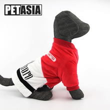 Купить с кэшбэком PETASIA Warm Pet Dog Clothes Soft Fleece Hooded Puppy Coat Jackets Cute Cartoon Costume Clothing For Small Dogs Cat Chihuahua L