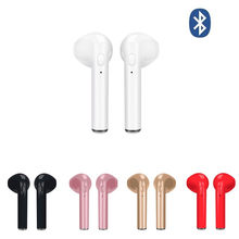 Wireless Earpiece Bluetooth Earphones I7 i7s TWS Earbuds Headset With Mic For Phone iPhone Xiaomi Samsung Huawei LG(China)