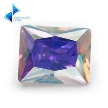 Размер 3x5 ~ 10x12 мм покрытие ab цвет многоцветный кубический