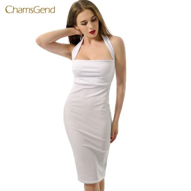 Sweetheart Halter Dress