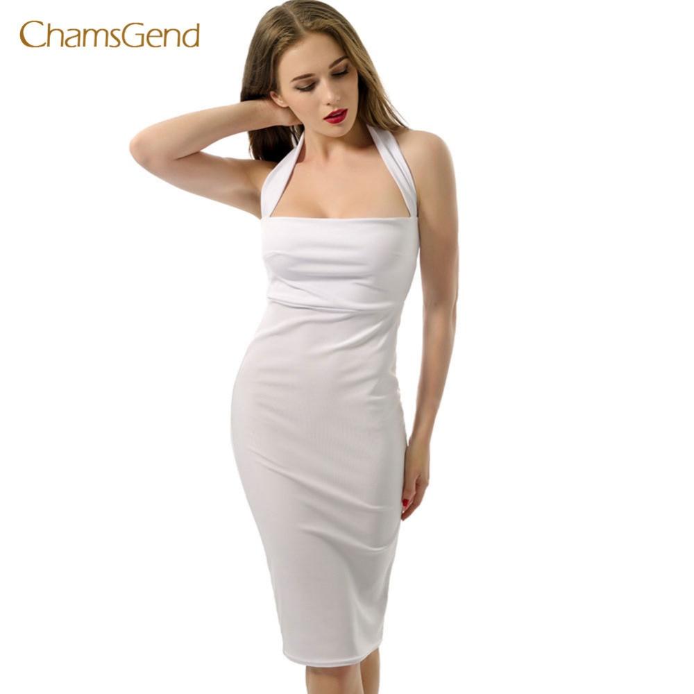 2017 Rayon Spaghetti Strap Dress Sweetheart Neckline top Quality Halter Sexy Women Bodycon Bandage Dresses Wholesale Cheap aug16