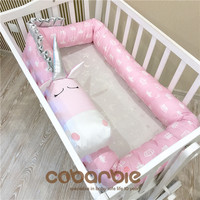 200cm 400cm Cotton Baby Crib Bumpers new animal doll Pillow Cushion,Nursery bedding,cot room dector,Unicorn, zebra, cow