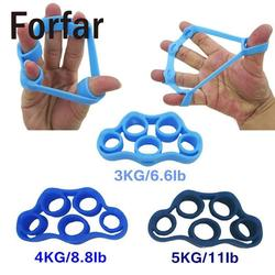 Forfar finger resistance bands finger gripping exerciser strengthen muscles exerciser hand grip exerciser finger trainer.jpg 250x250
