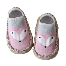 Baby Shoes Sock Style Anti-Slip Soft Cotton Moccasins Cartoo