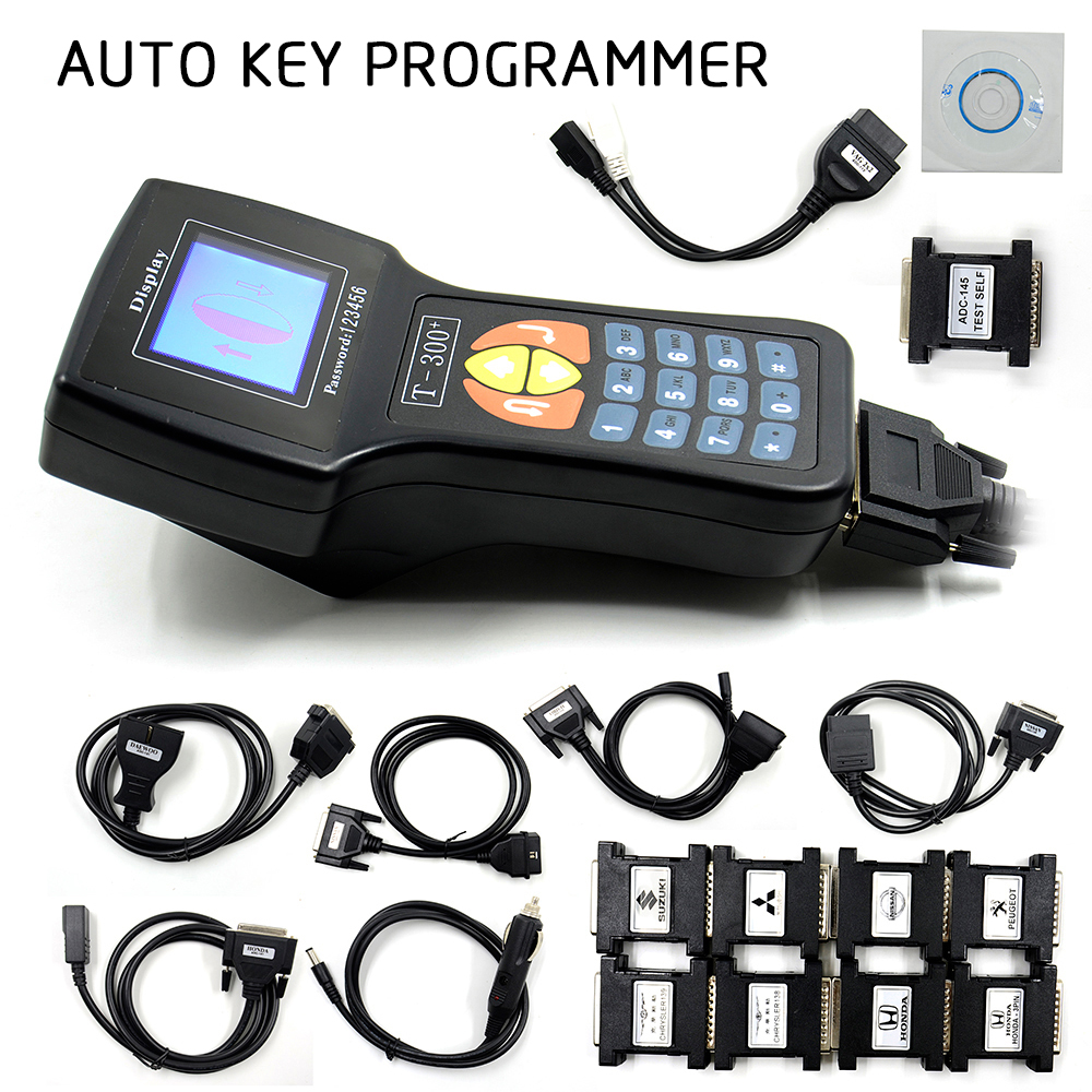 2018 New Professional T-300 T300 Auto Key Programmer T Code T 300 Software 2016 V 16.8 Support Multi brand Cars T300 Key Maker
