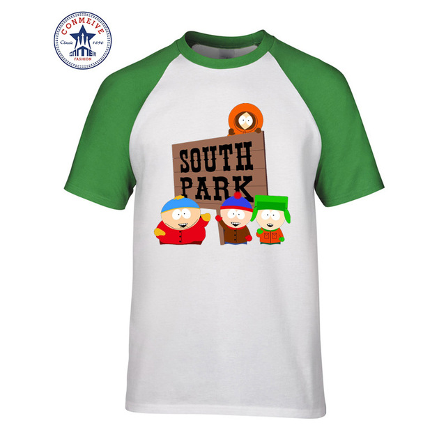 Cartoon Sitcoms SOUTH PARK Funny T Shirt for men 1