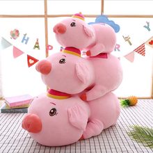 Creative Lovely Blessing Pig Plush Toy Stuffed Animal Soft Doll Gift Send to Children & Friends