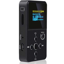 PINWEI Reproductor de MP3 Reproductor de Música de ALTA FIDELIDAD de Calidad Profesional con PANTALLA OLED Soporte de MP3 WMA WAV APE FLAC Formato de pantalla 32G TF/SD tarjeta