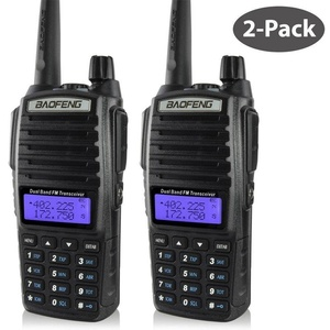 Image 1 - baofeng uv 82 walkie talkie 136 174MHZ and 400 520MHZ (TX/RX) dual PTT  FM Ham Two way Radio Transceiver, walkie talkie
