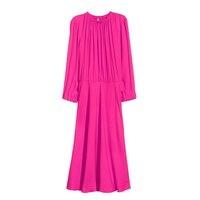 100% Silk Crepe Dress Puresilk Mulberry Silk Women Party Dress