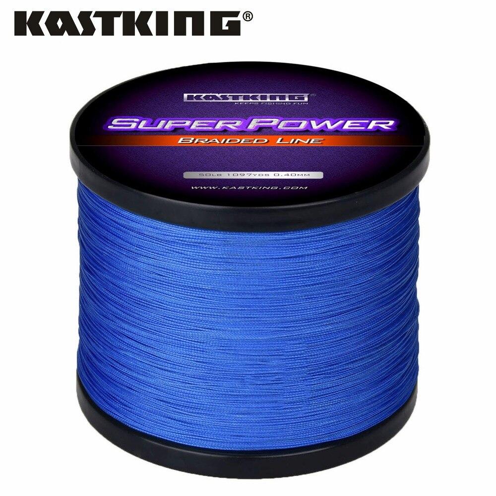 Kastking Superpower tressé 4 brins résistance à l/'abrasion lignes Ligne de Pêche Fil