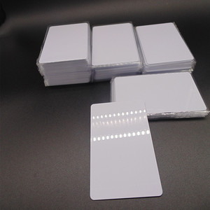 Image 2 - 1000 teile/los Mi fare1k s50 13,56 MHZ F08 IC NFC Tag Weiße Karte Access control DHL Kostenloser versand