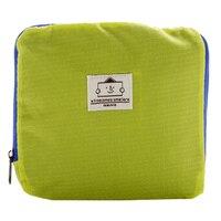 5 TEXU Foldable Shopping Bag Street Shopper Bags Multifunctional Shoulder Bag Green