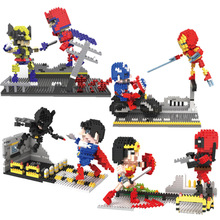 цены на Avengers 4 Final Wars Super Hero Iron Man Batman Compatible Legoingly Figures Building Blocks Bricks Set Model Toys For Children  в интернет-магазинах
