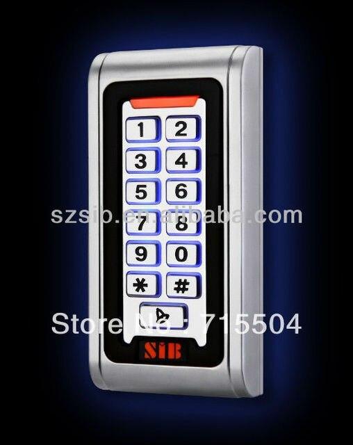 Metal access control keypad S600MF-W