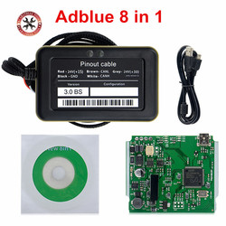 2018 Newest Truck Adblue Newest ADBLUE Emulator 8in1 with Nox Sensor Adblue Emulator 8 in 1 Truck Diagnostic Tool