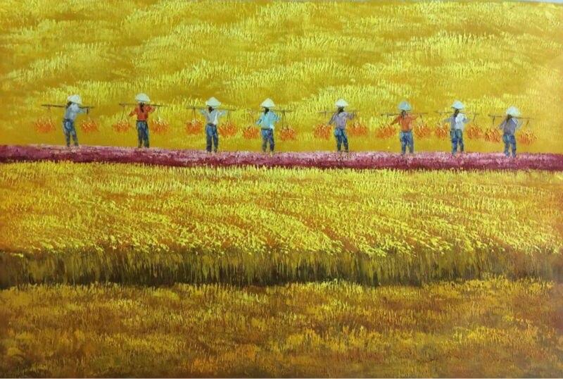 Popular Vietnam Oil Painting Buy Cheap Vietnam Oil