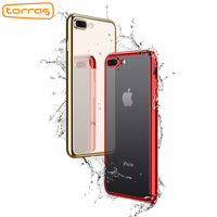 TORRAS Soft Rubber TPU Phone Case For IPhone 8 Clear Phone Protective Back Cover Luxury Fashion
