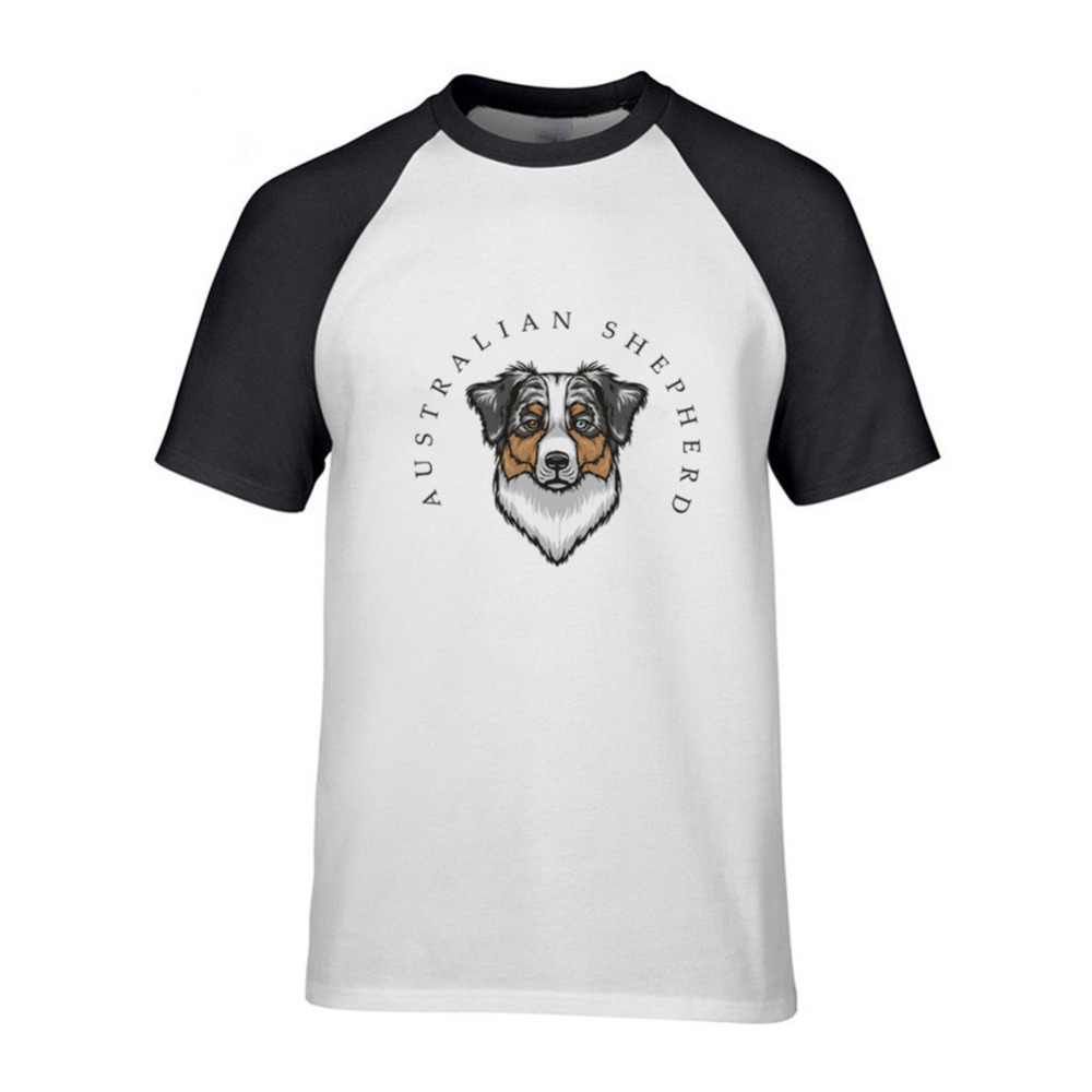 Australian Shepherd Baby Shirt Mens Shirt Tee Shirt