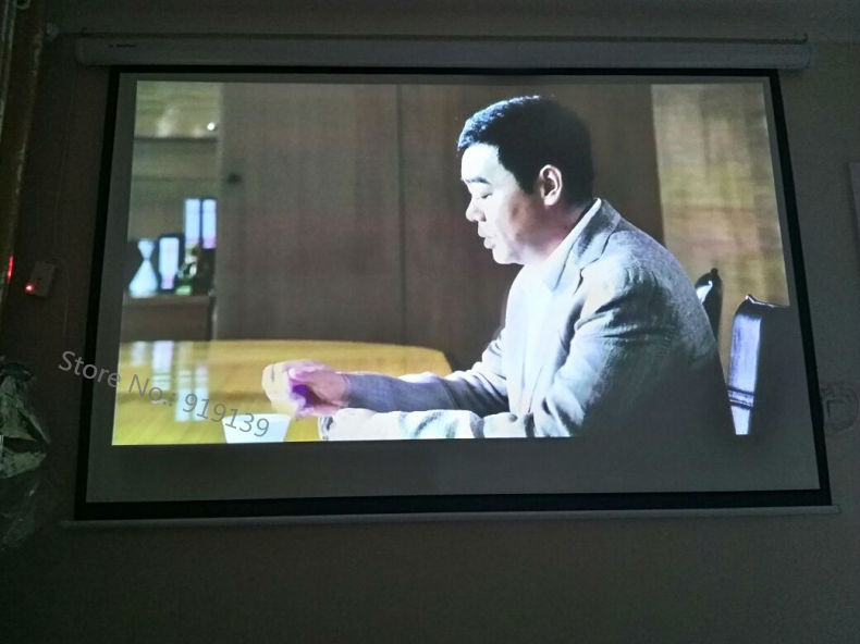 120 Inch 4 to 3 screen pic 11