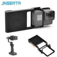 Совместимый коммутатор Монтажная пластина Адаптер для GoPro 5 4 3 3 + xiaoyi 4 К для DJI Осмо мобильный Zhiyun Z1 гладкой c r 2 II Gimbal
