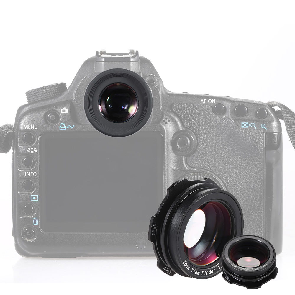 1.08x 1.60x Zoom DSLR Camera Photo Eye Cup Magnifier 6