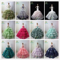 Not Contain Doll Ucanaan 15 Models Fishtail Wedding Party Dress For B Doll Limited Collection Elegant