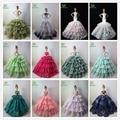 No Contener La Muñeca! ucanaan 15 modelos de cola de pescado vestido de novia parte de barbi muñeca limitada colección elegante vestido hecho a mano de regalo