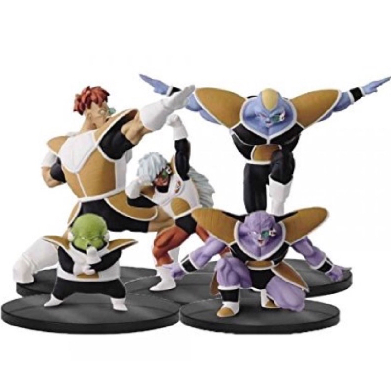 Dragon Ball Z Dramatic Showcase 2nd Season PVC Figure Toys - Captain Ginyu,Recoom,Guldo,Burter,Jeice - 100% Original