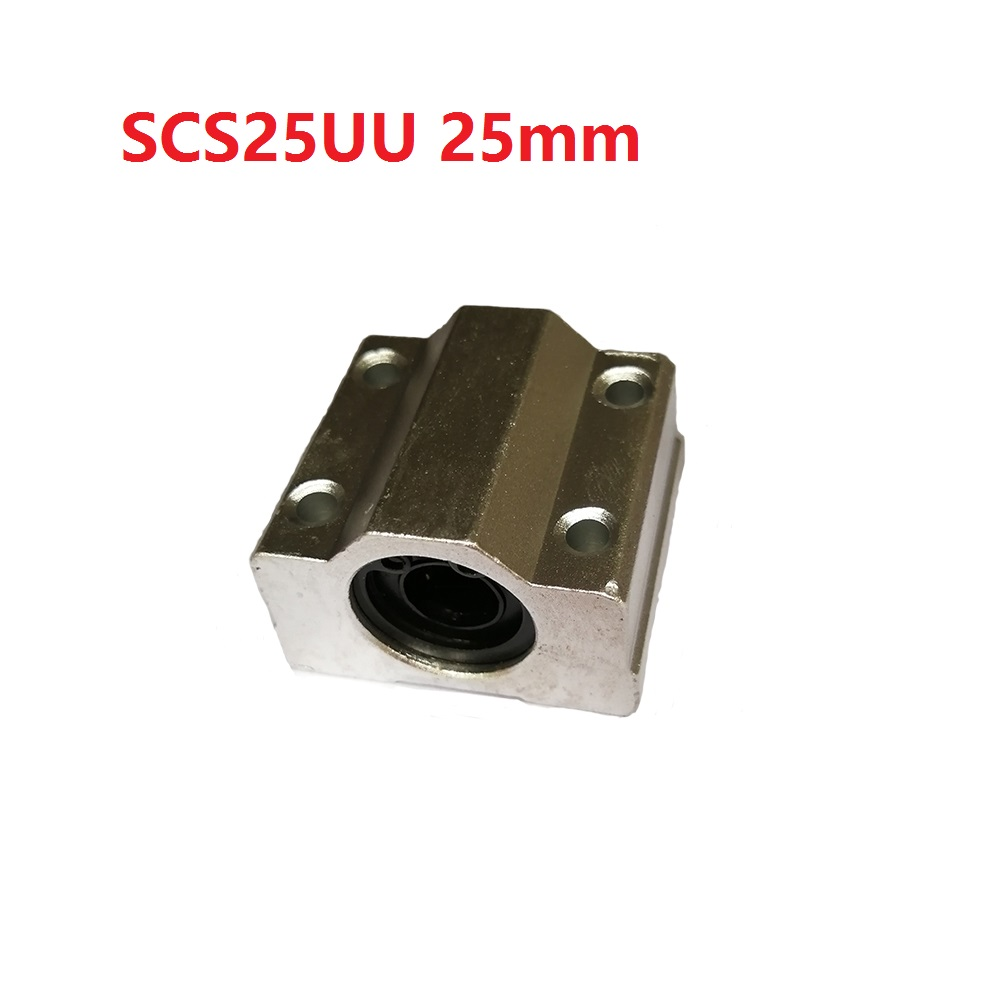 1PCS scs25uu 25mm sc25uu Linear Motion Ball Bearing CNC Slide Bushing for linear shaft 3D printer parts excellway ch2 quick wire connector terminal block spring connector led strip light wire connector