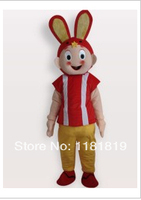 Maskot tavşan kısa peluş bunny maskot kostüm özel fantezi kostüm anime cosplay mascotte fantezi dress karnaval kostüm