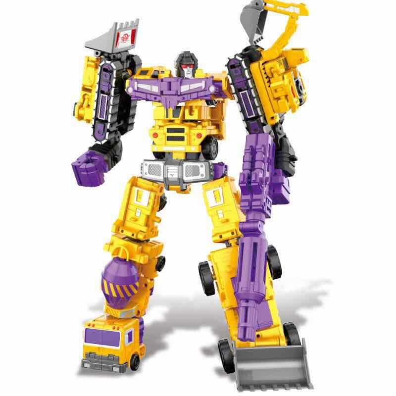 6 in 1 Oversize G1 Devastator Transformation WJ Action Figures Toy KO DX9 Model Robot Car Truck kid Boy Toys Gifts desire master духи с феромонами 8 мл для мужчин древесный