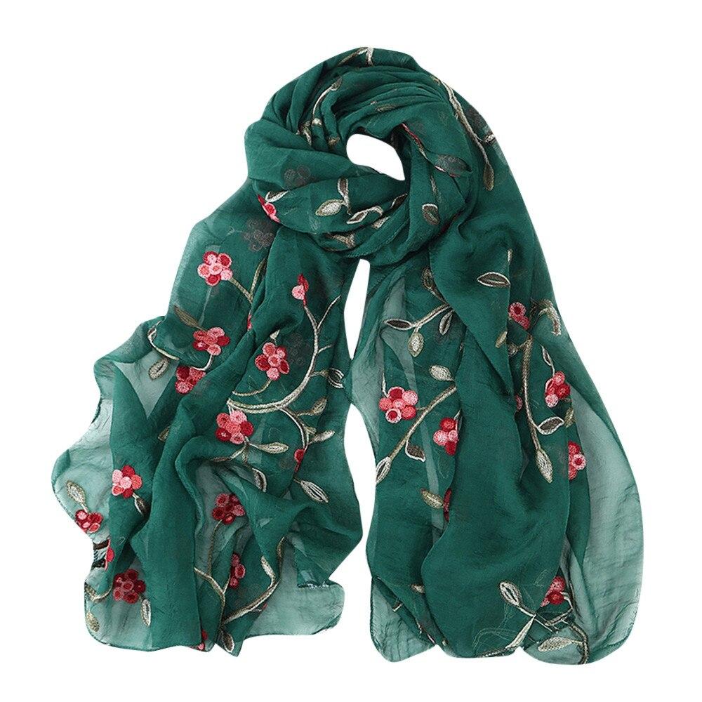 Mori girl   Scarf   Women Long Flower Printed   Scarf     Wraps   Floral Shawl Soft   Scarves   Scarfs For Ladies echarpes foulards femme