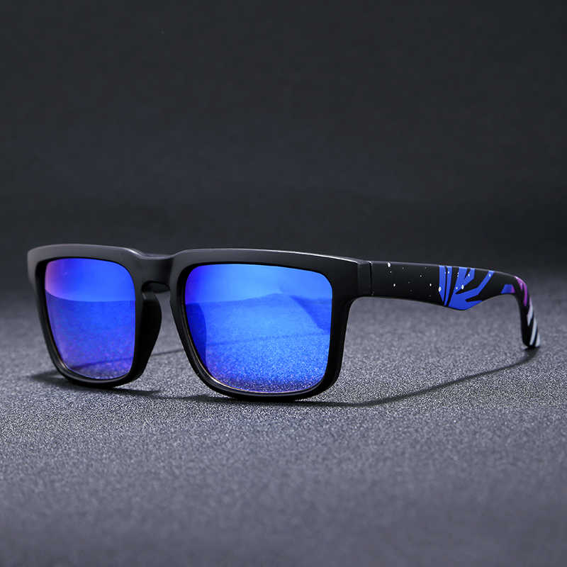 65fc1dcb2b6e Super Deal New Men Sport sunglasses Square Frame Reflective Coating Sun Glasses  Women Brand Design HD